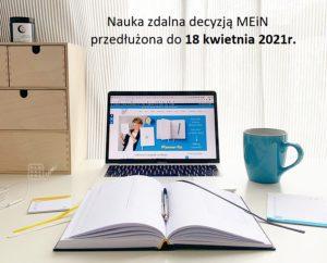 Nauka zdalna do 18.04.2021